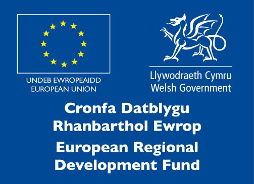 European Regional Development Fund and delivered by UWTSD