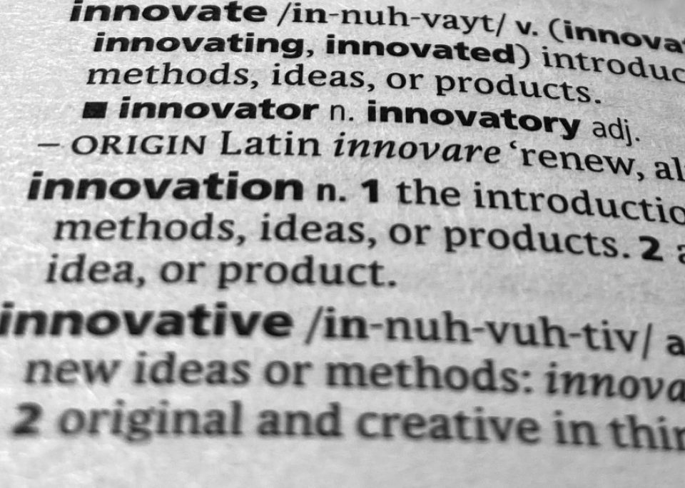 Innov-a-ting [vrb] An action word…?